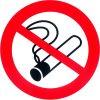 verboden roken